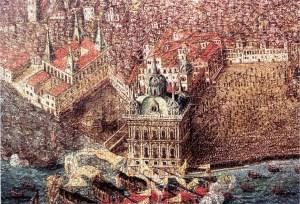 Paço da Ribeira 1619. Entrada de Filipe II de Espanha em Lisboa