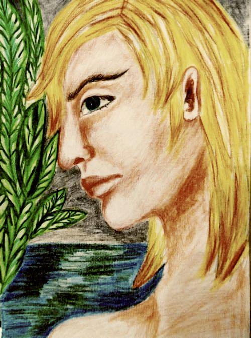 Na wodach Styksu - wiersz - Liściem na wietrze pisane
