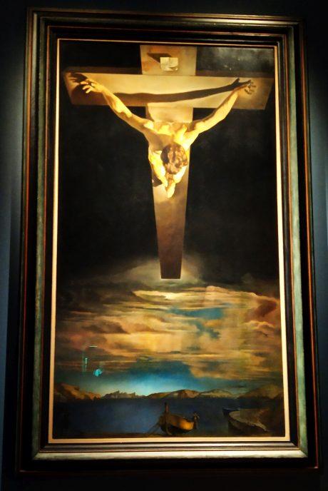 Salvador Dali, Chrystus świętego Jana od Krzyża. Tekst - Liściem na wietrze pisane