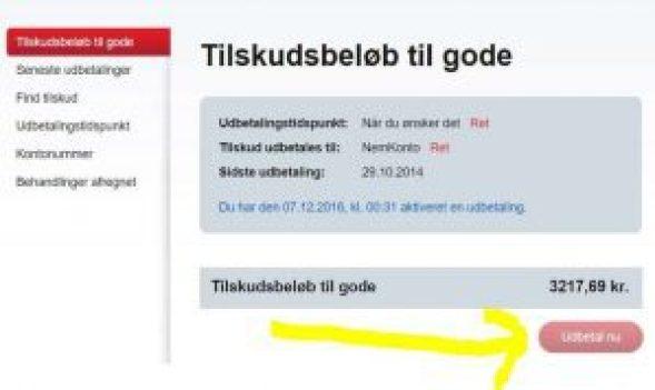 penge tilgode danske forsikring