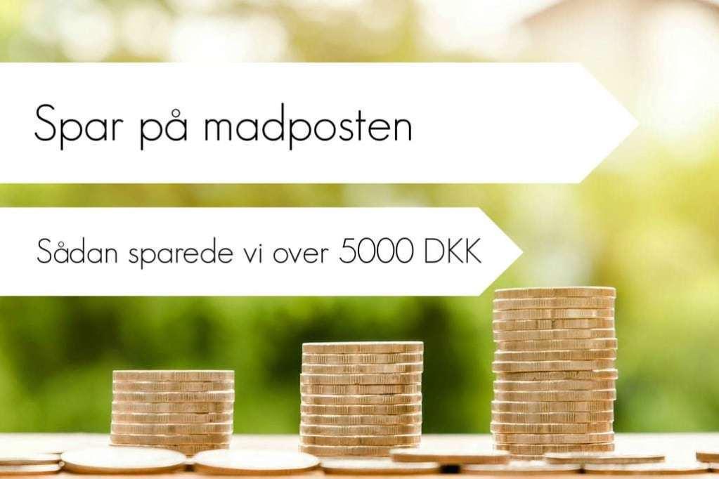 Sådan sparede vi over 5000 DKK på mad på én måned