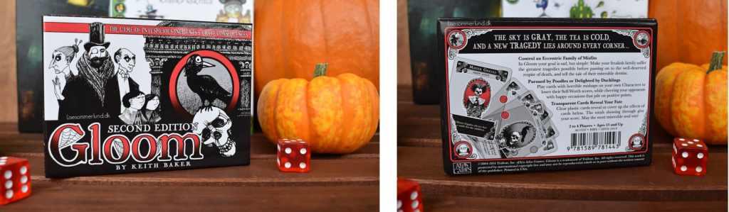 Halloween game night spilaften gloom