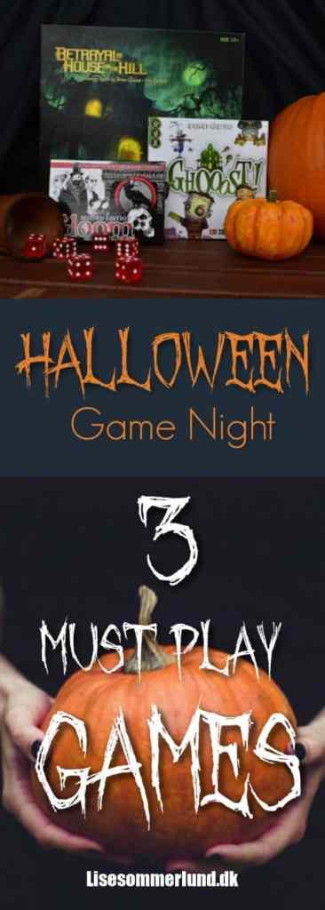Halloween spil games game night spil aften