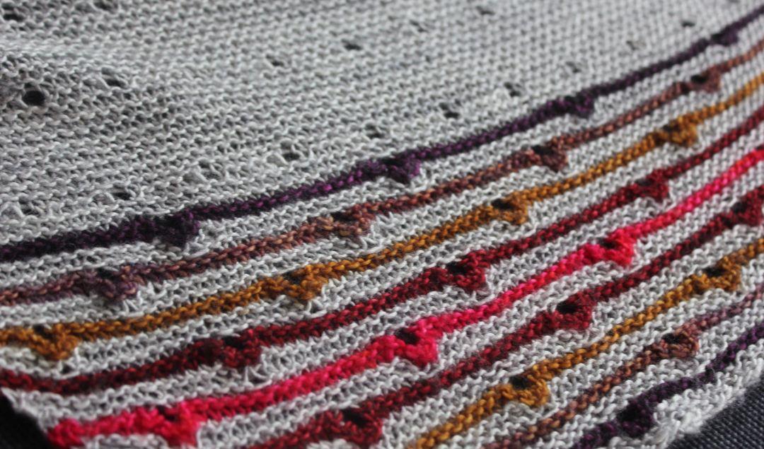 Solaris shawl Melanie Berg