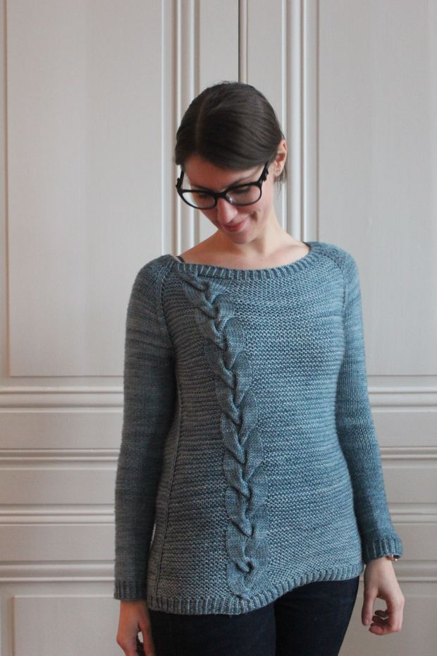 Morning in Engelberg - NCL Knits - Made by Lise Tailor