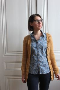 Chemise Granville Sewaholic - Made by Lise Tailor