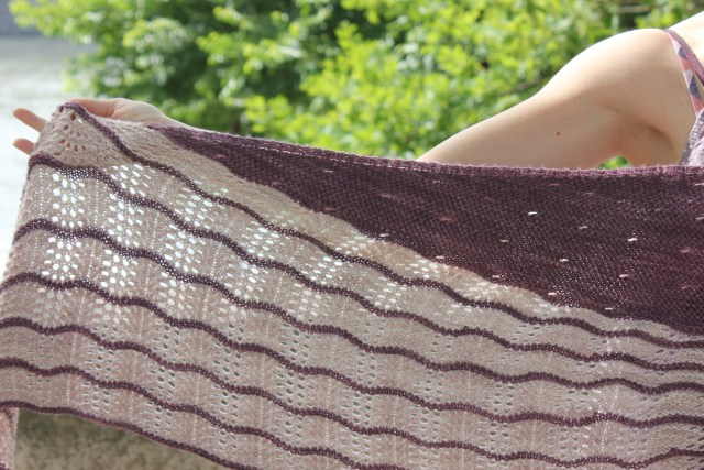 Good vibes shawl - NCL Knits