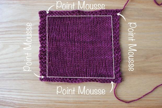 L'échantillon au tricot : comment et pourquoi le tricoter ?