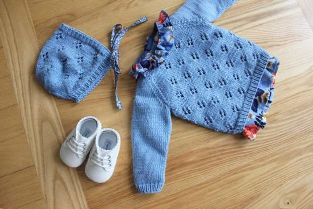 Rigmor's summer shirt and bonner - Petite knit