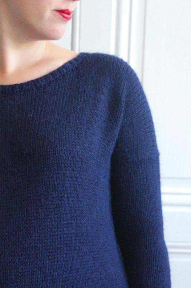 Pull Sur un nuage - Lili comme tout - Blog tricot