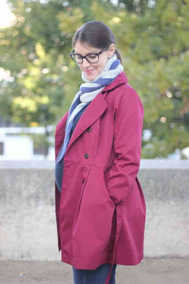 Trench Luzerne -Deer and doe - Blog couture
