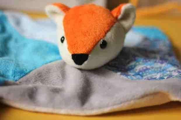 Doudou Selmar le renard - Petits Dom - Blog couture