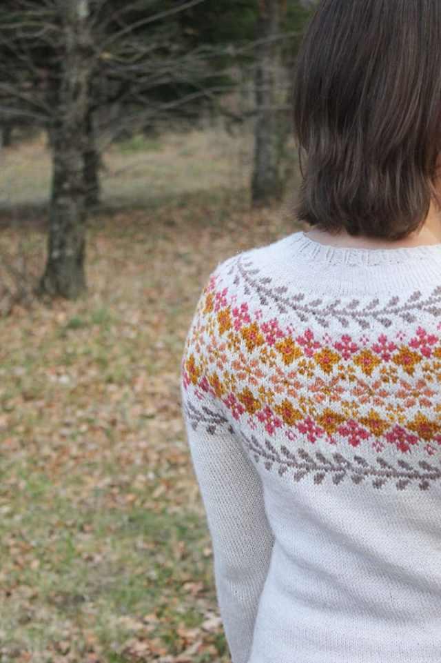 Pull Birkin sweater - Caitlin Hunter - Blog tricot