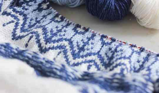 Tricoter du jacquard - Croiser les fils - Tenir les fils - Gérer la tension