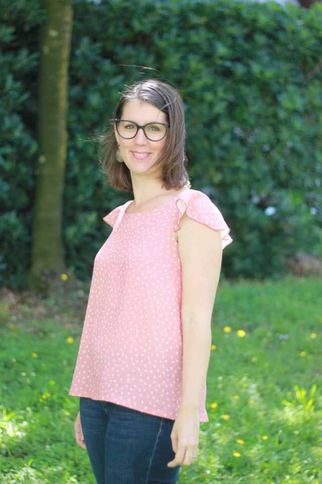Blouse Syracuse - Anne Kerdiles - Blog couture