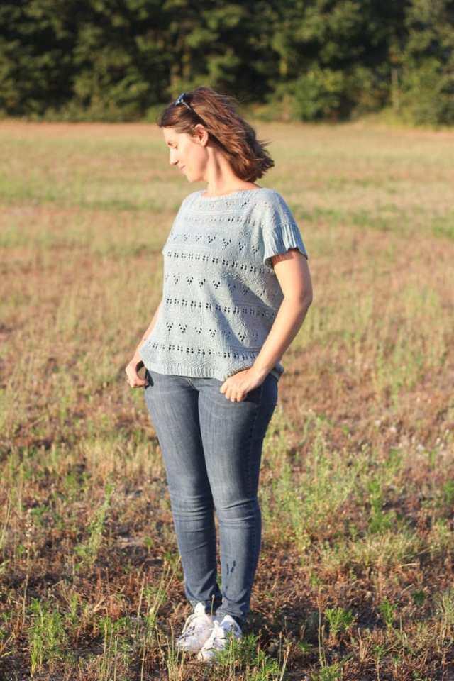 Antigone De rerum natura - Aperitif hour - Josée Paquin - Blog tricot