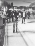 Public apology to all those people I slowed down on the ice rink by being the slowest skater at the place.