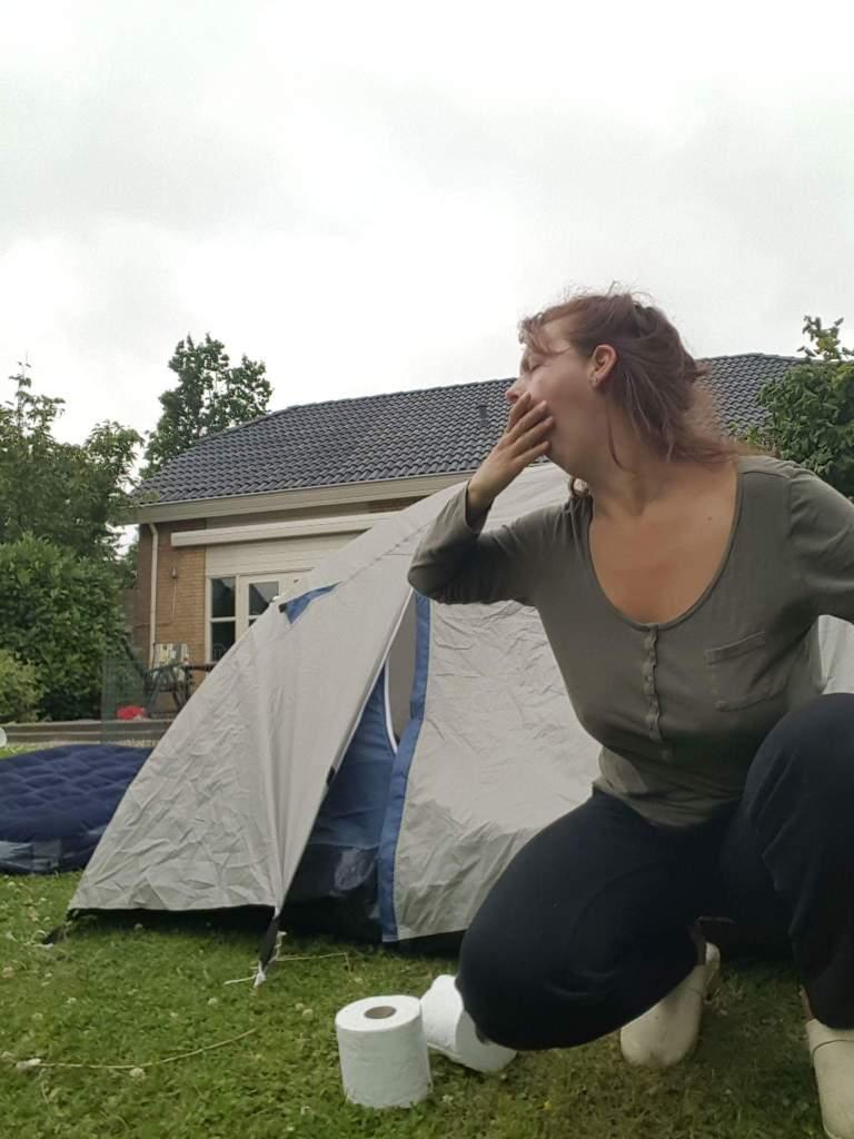 camping proefkamperen Sylvie