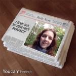 Sylvie in de krant