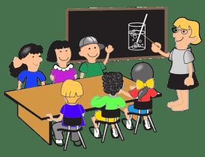 op een school voor hoogbegaafde kinderen zijn de klassen vaak kleiner