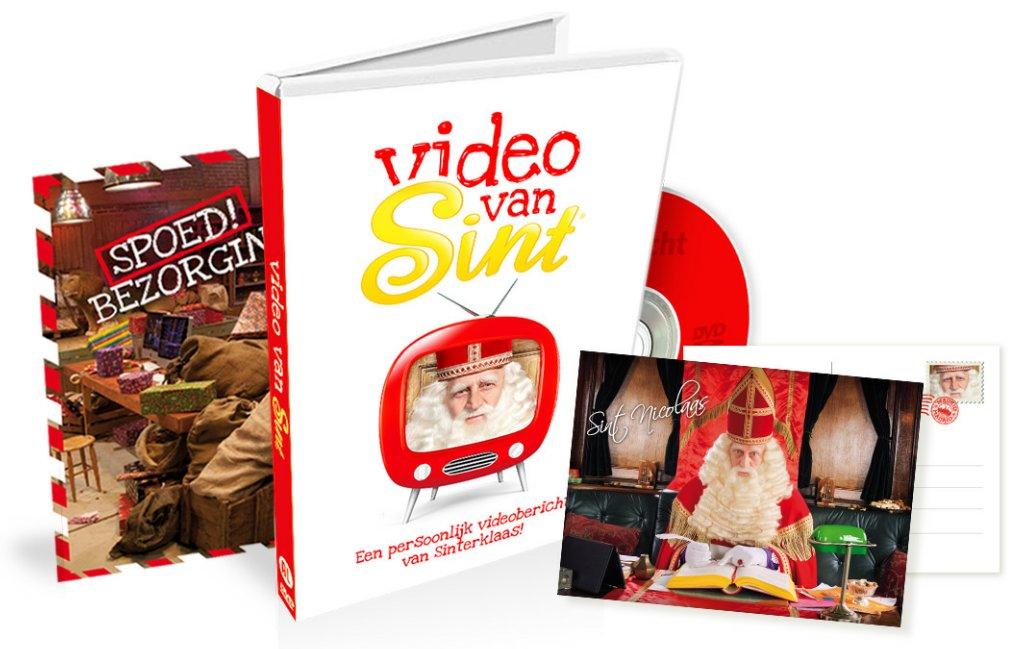 DVD video van Sint bestellen