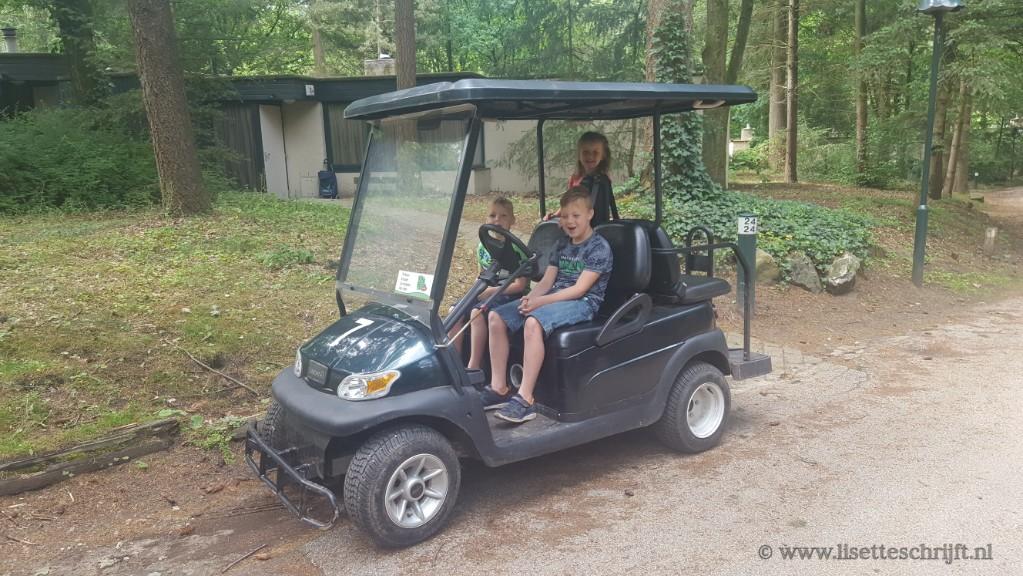 clubkart golfkarretje huren bij center parcs lisette schrijft