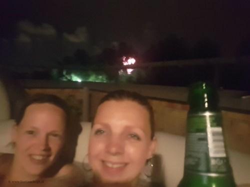 in de jacuzzi genieten van heaven outdoor 2017 Lisette Schrjft
