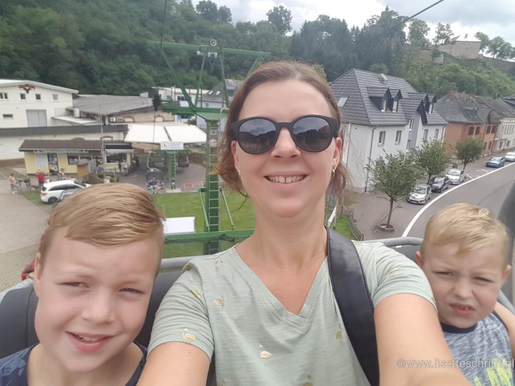 Landal de Warsberg kabelbaan Lisette Schrijft