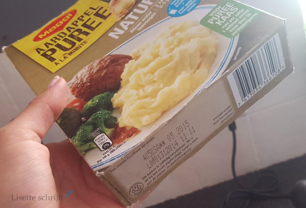 aardappelpuree lang houdbaar Lisette Schrijft