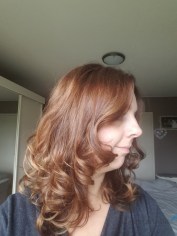 Herfstkleur bruin voor kapsel Lisette Schrijft