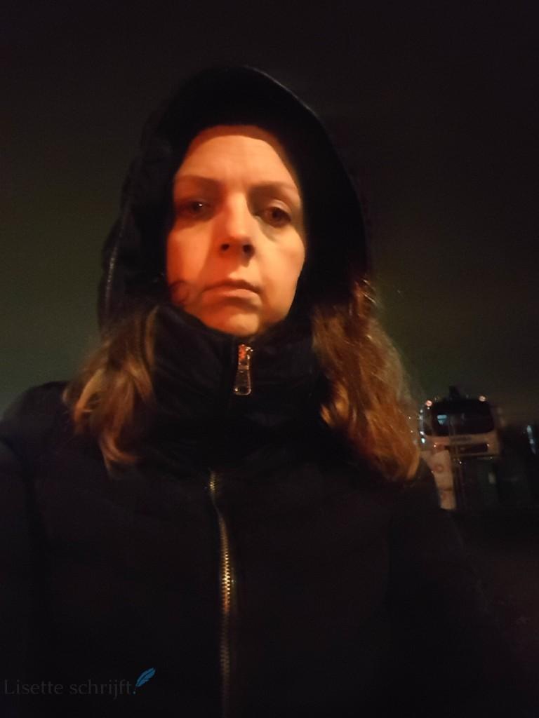 op de fiets in het donker Lisette Schrijft