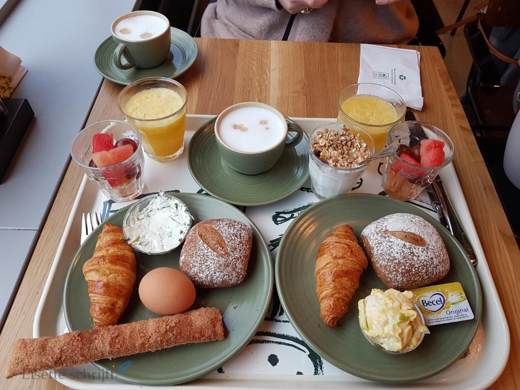 ontbijt bij la place Lisette Schrijft