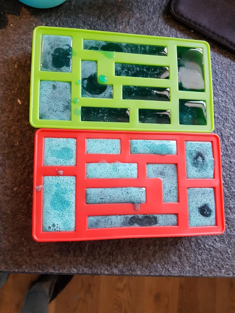 Lego snoejes in de vorm Lisette Schrijft