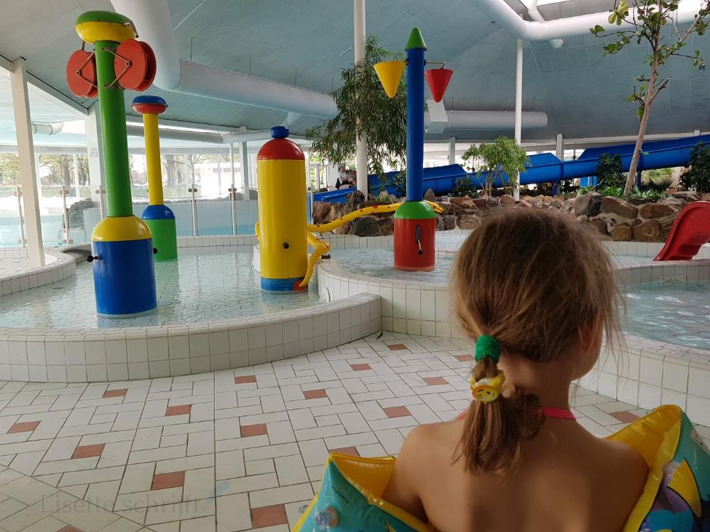 het zwemparadijs kinderbadje vakantiepark de Leistert