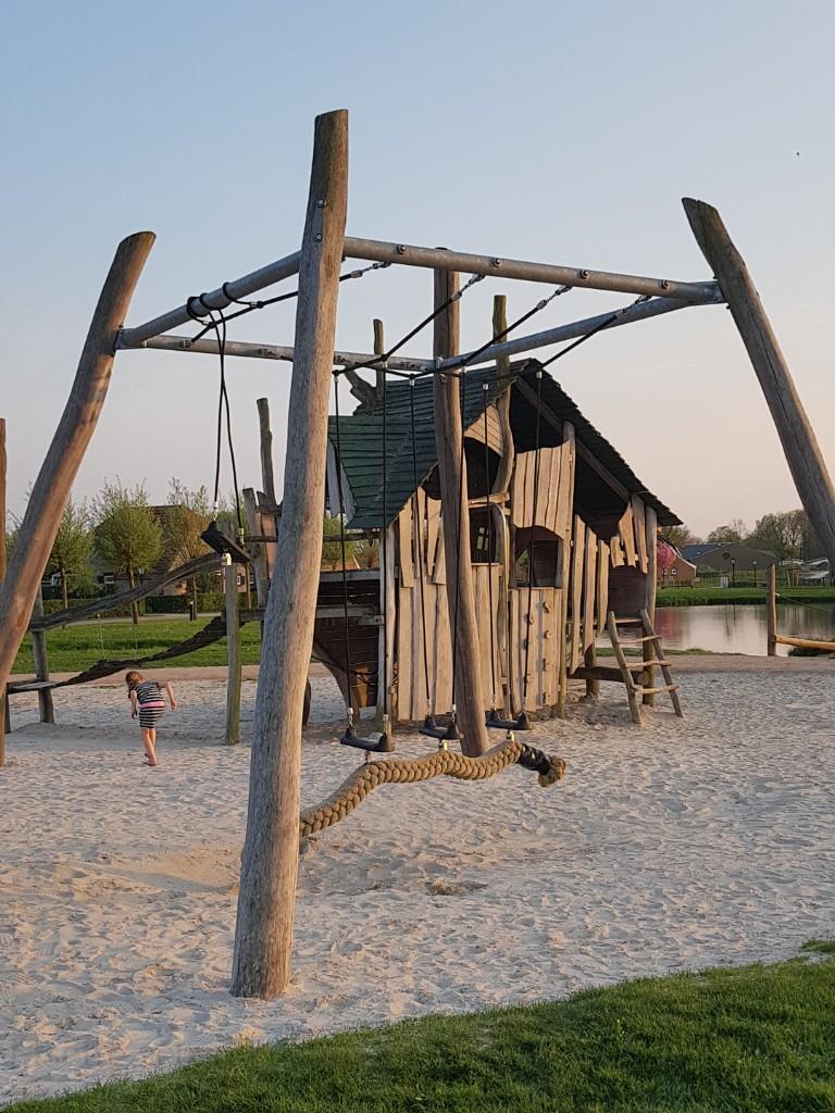 speeltuin in vakantiepark de Leistert