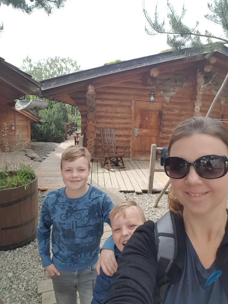 gezin voor een vakantiehuisje in Europa-Park