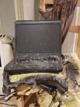 Een verbrande laptop Lisette Schrijft