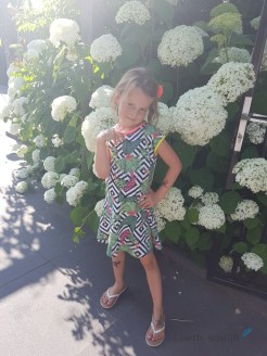 zomerjurkje van B.Nosy Lisette schrijft