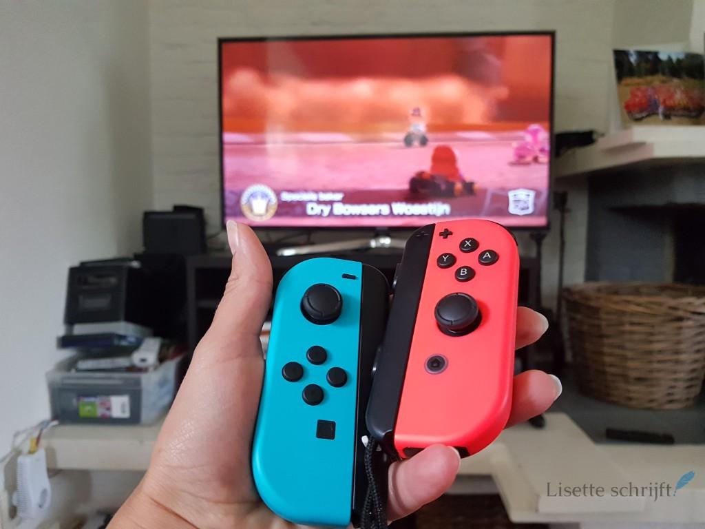 Lisette test de Nintendo Switch games Lisette Schrijft