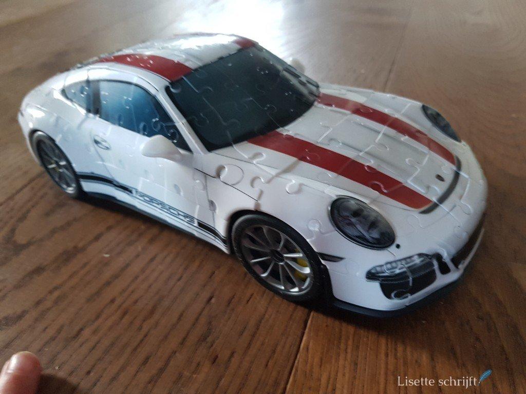 3D-puzzel Porsche lisette Schrijft
