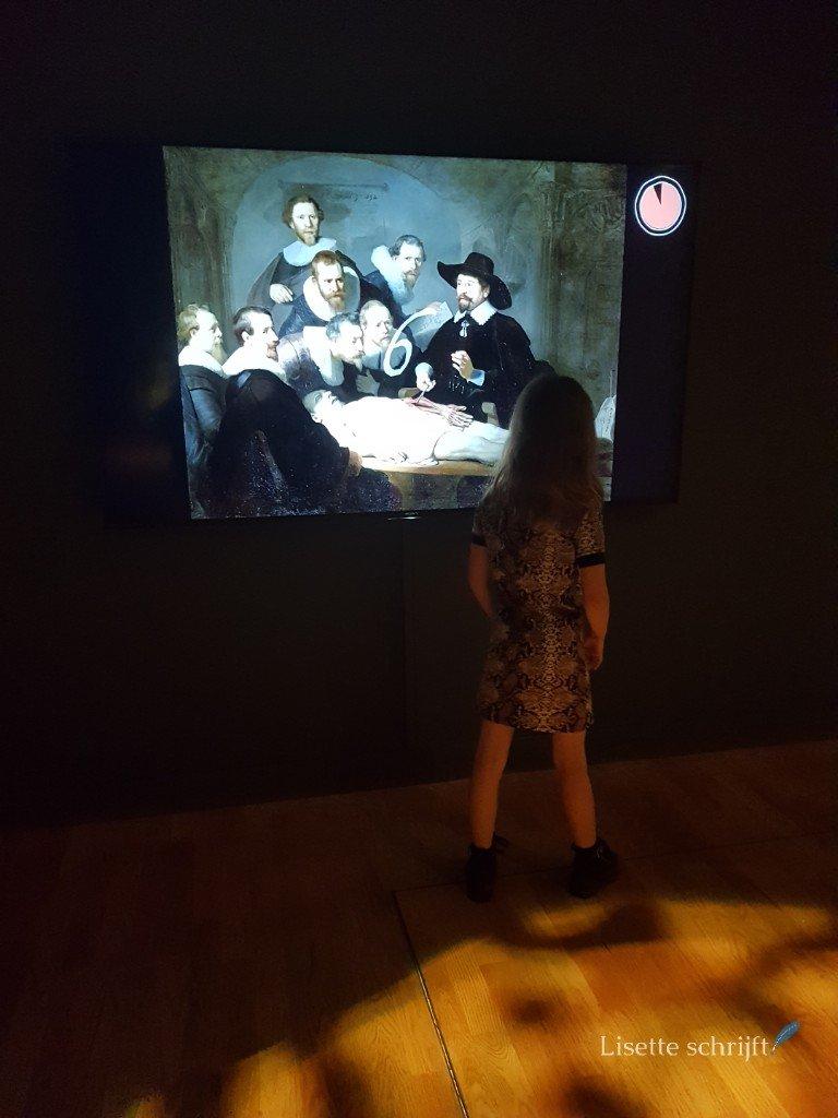rembrandt in het mauritshuis