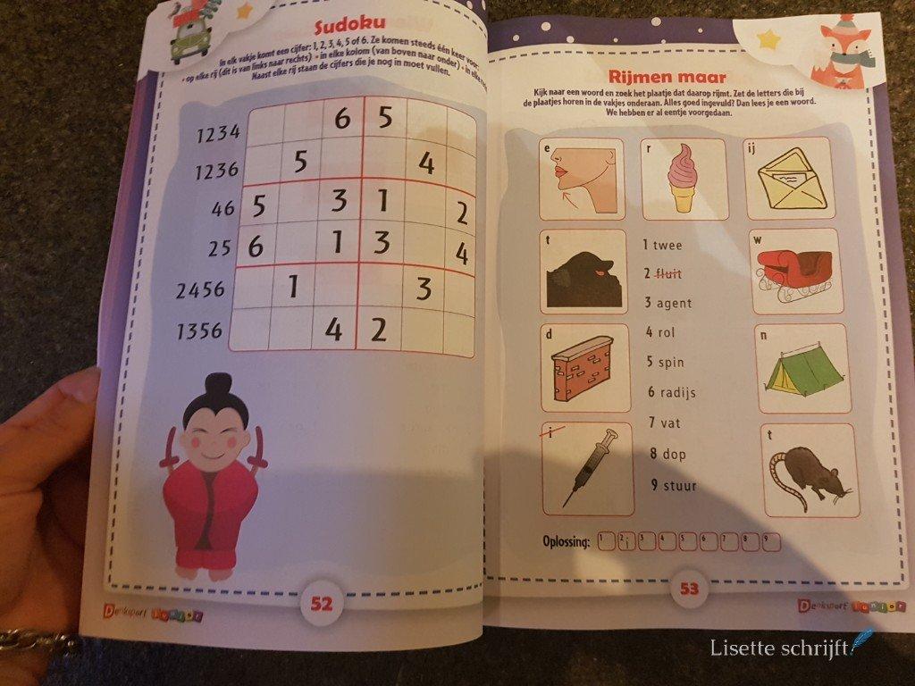 denksport winter puzzel doe boek winnen