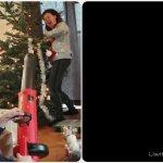 Kerstboom van Sylvie 2019: een traditie verbroken.