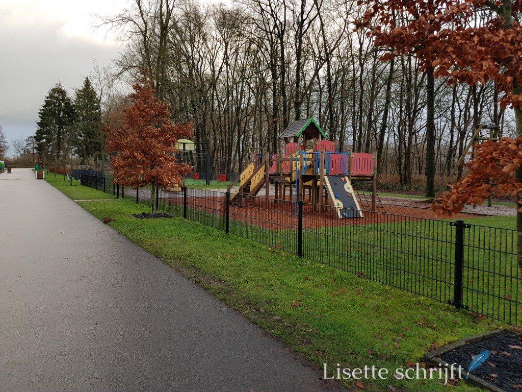 speeltuin bij Landal Amerongse Berg