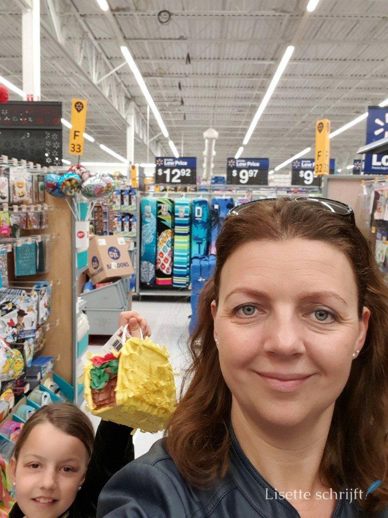 lekker winkelen in de Walmart in Amerika