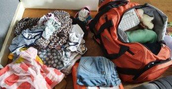 als je kind op kamp gaat spullen inpakken