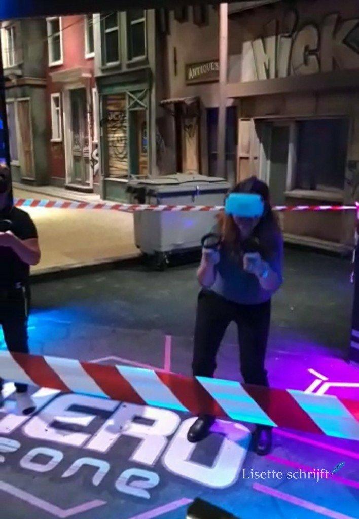 VR-game spelen in het Westland