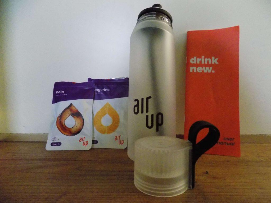 Air Up water met een smaakje