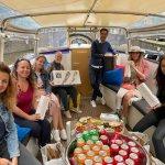 Lekker varen in Amsterdam met de blogboot