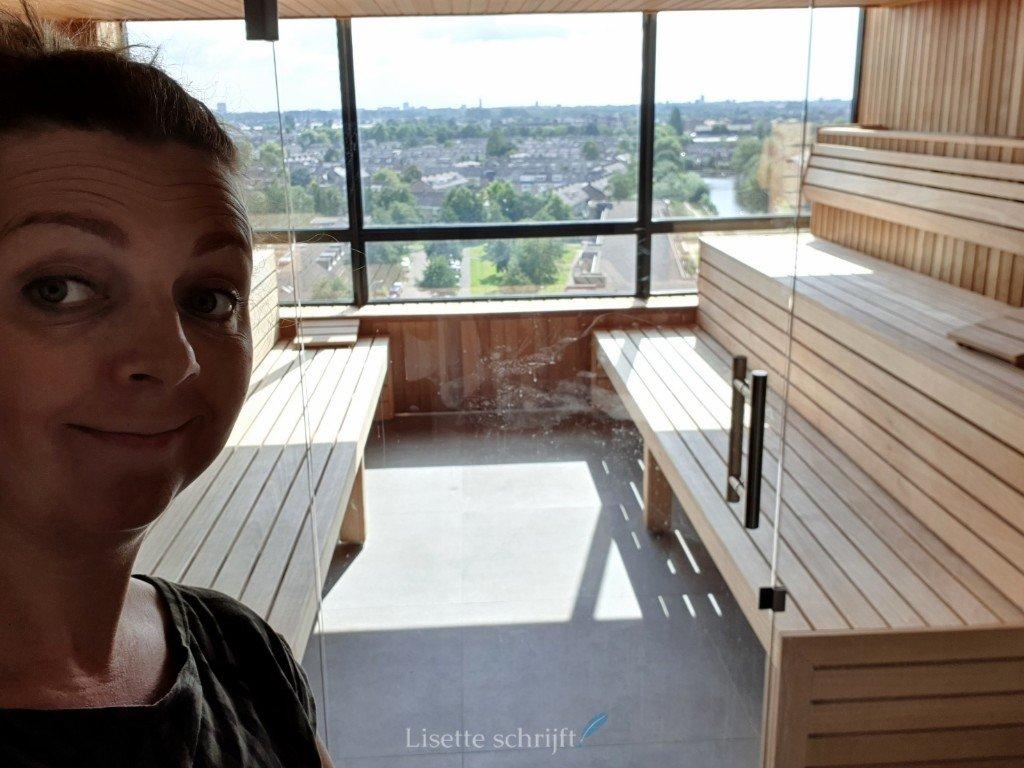 sauna alleen in een hotel